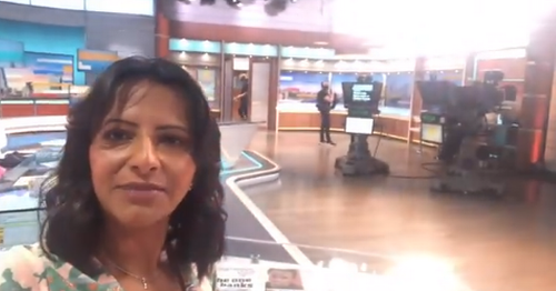 Ranvir Singh gives GMB fans a rare behind-the-scenes tour of studio