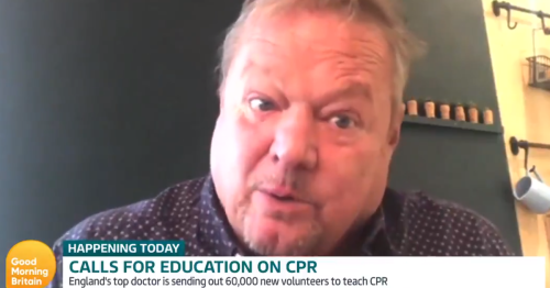 Ted Robbins tells GMB more CPR training needed after Eriksen collapse