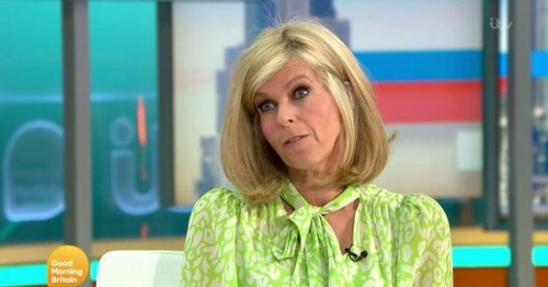 Kate Garraway's in heated GMB row over motorway protesters