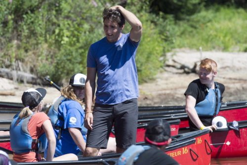 71% of B.C. men say they'd prefer to go camping with Trudeau: survey - Langley Advance Times