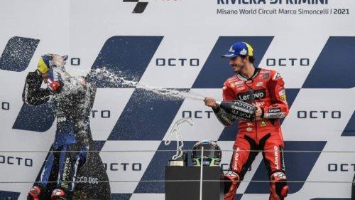 MotoGP: Bagnaia, vainqueur à Misano et dernier rival de Quartararo pour le titre