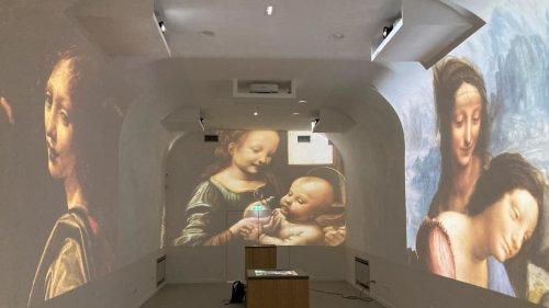 Amboise : plongée dans les nouvelles galeries Léonard de Vinci au Clos Lucé