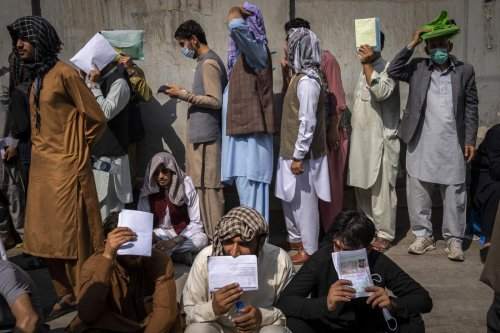 Across Kabul, a single plea: Get me out of here!
