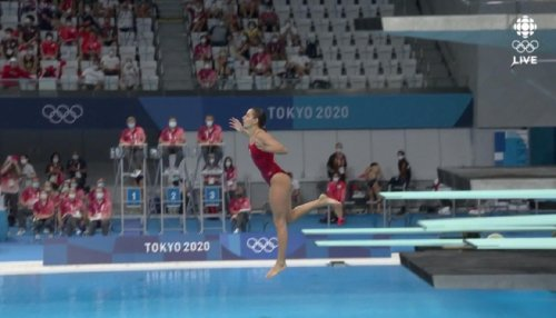 Pamela Wade completely botches last dive, misses final at Olympics
