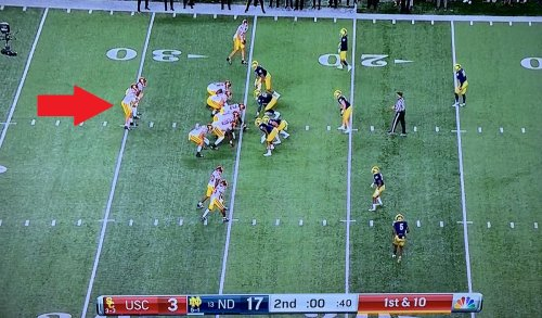 USC had absolutely baffling clock management before halftime