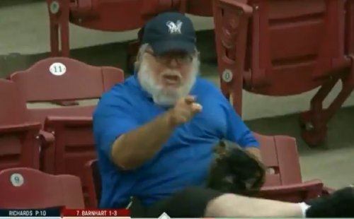 Video: This Brewers fan was furious about not getting a foul ball