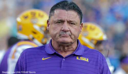 Report: Ed Orgeron hit on pregnant wife of LSU official