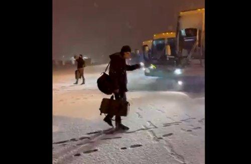 Video shows how bad blizzard postponing Rockies-Mets game is