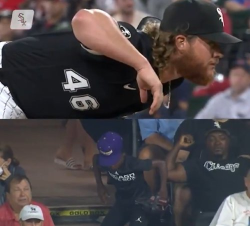 Look: Craig Kimbrel hooks up young fan who imitates his motion