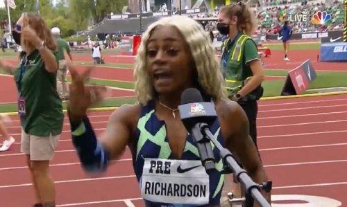 Usain Bolt has message for Sha'Carri Richardson about trash talk