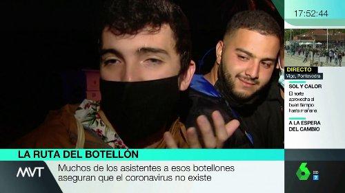 """Los argumentos de los irresponsables que hacen botellón en las calles de Barcelona: """"Es libertad de reunión, lo dice la Constitución"""""""