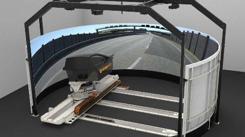 Continental probará sus neumáticos en un innovador simulador