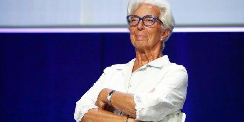 """Evergrande : Christine Lagarde (BCE) évoque un risque """"limité"""" en zone euro, les Bourses s'inquiètent"""
