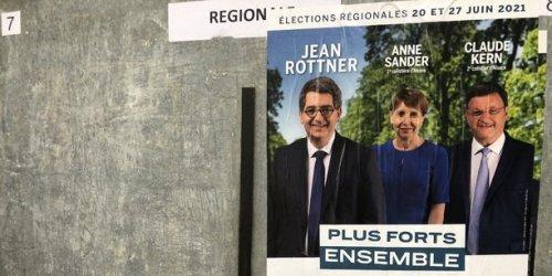 Régionales : dans le Grand-Est, record d'abstention et prime au sortant