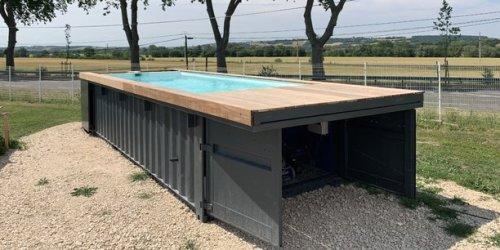 À Toulouse, les piscines containers Soniga rencontrent un succès inattendu