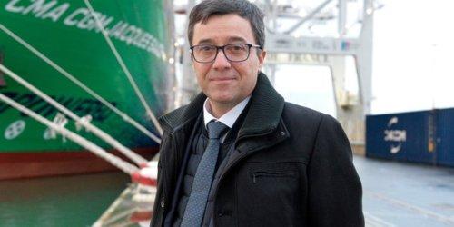 Haropa : « Je ne me satisfais pas que la moitié du trafic conteneur français passe par les ports étrangers » (Stéphane Raison, président du directoire)