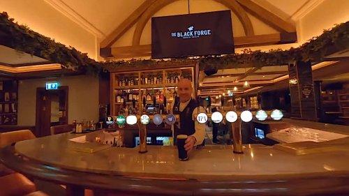 An Incredible Drone Flight Through MMA Fighter Conor McGregor's Black Forge Inn in Dublin, Ireland