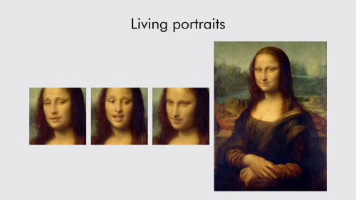 Samsung AI Machine Learning Turns Mona Lisa and Other Famous Portraits Into Realistic Talking Heads