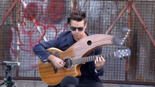 A Richly Emotive Harp Guitar Cover of the Classic Pixies Song 'Where Is My Mind?'