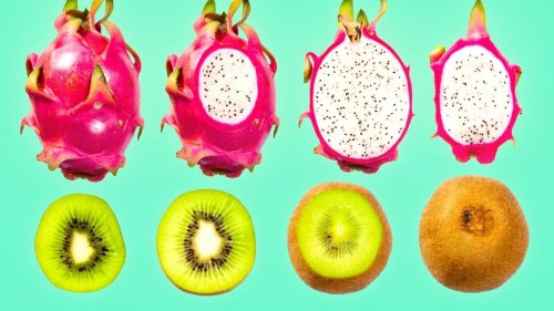 A Tasty Stop Motion Animation Showing the Hidden Natural Patterns Inside of Tropical Fruits