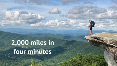 Hiking 2,000 Miles of the Famous Appalachian Trail Condensed Into a Wonderous Four Minute Timelapse