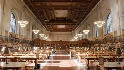 An Informative Guided Virtual Tour of the Incredible Architectural Details of the New York Public Library