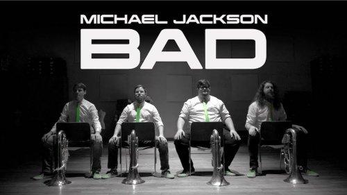FivE Quartet Performs a Funky Percussive Euphonium Cover of Michael Jackson's 'Bad'