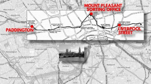 A Hidden Underground Railway Line in London That Was Dedicated to Mail Delivery