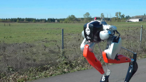 Cassie the Ostrich-Inspired Bipedal Robot Runs a 5K Race In Less Than an Hour on a Single Battery Charge