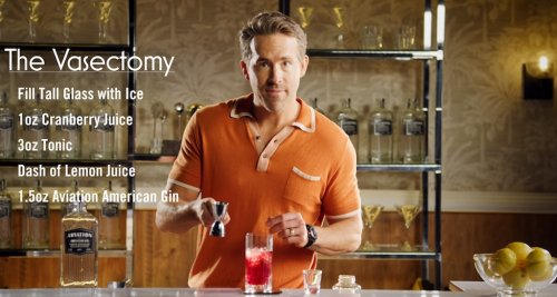 Ryan Reynolds Shows How to Mix a Special Father's Day Cocktail That He Calls 'The Vasectomy'
