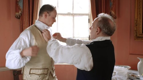 A Demonstration of How an Upper Class Gentleman in the 18th Century Would Get Dressed in the Morning