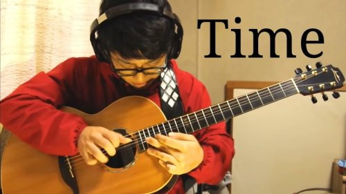 An Expressive Fingerstyle Cover of the Classic Pink Floyd Song 'Time' Performed on Acoustic Guitar