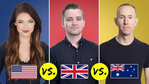 Demonstrating the Differences Between American English, British English, and Australian English