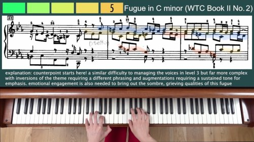 16 Year Old Aspiring Concert Pianist Plays the Eight Levels of Difficulty in Pieces by Classical Composers
