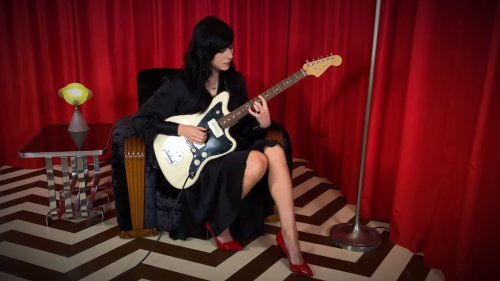Ethereal Electric Guitar Cover of the 'Twin Peaks' Theme