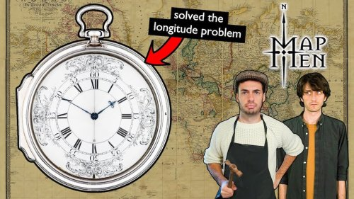 How the Issue of Longitude at Sea Was Solved With the Newly Invented Pocket Watch in the 1770s