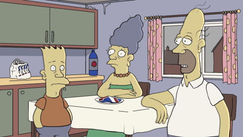 'The Simpsons' Reimagined With British Characters