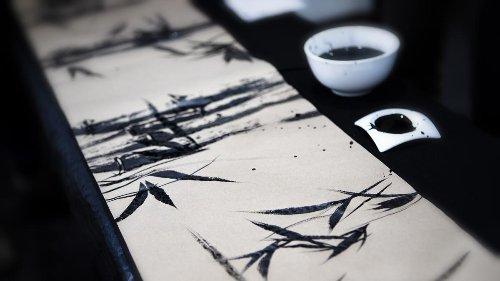 Sumi-e, el arte zen de pintar con tinta china para encontrar el equilibrio