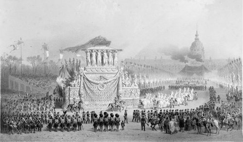 Le dernier voyage de Napoléon à Paris