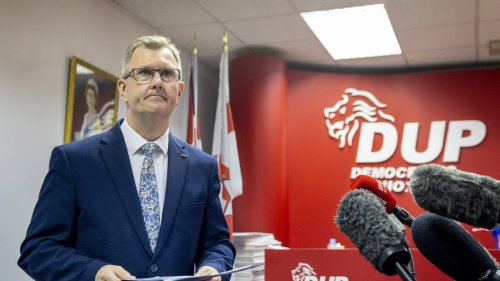 Sir Jeffrey Donaldson named DUP leader following Edwin Poots resignation