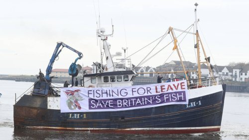 Brexit: MPs vote to 'take back control of UK waters' as Fisheries Bill clears Commons