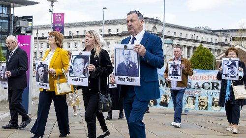 Ballymurphy massacre: 10 innocent people killed without justification - coroner
