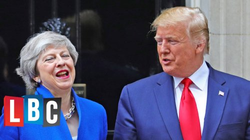 """Donald Trump Thinks The UK Could Have A """"Very Substantial Trade Deal"""" With The US"""