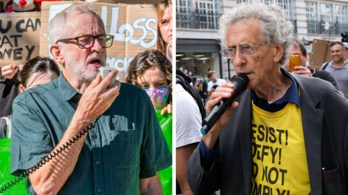 Labour conference chaos: Piers Corbyn heckles brother Jeremy 'over Covid vaccines'