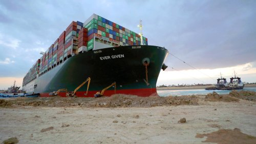 Suez Canal ship Ever Given 'grounded again', lawyers say