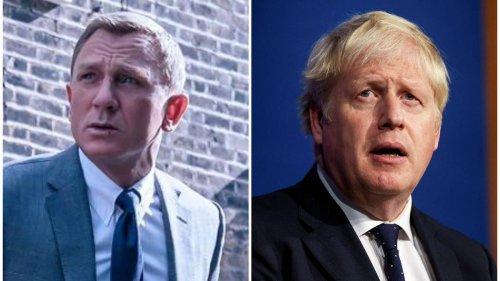 Boris Johnson uses £2.6m briefing room... to watch James Bond film