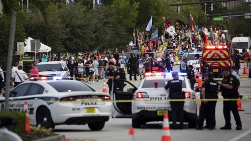 One dead after truck hits crowds during Pride parade