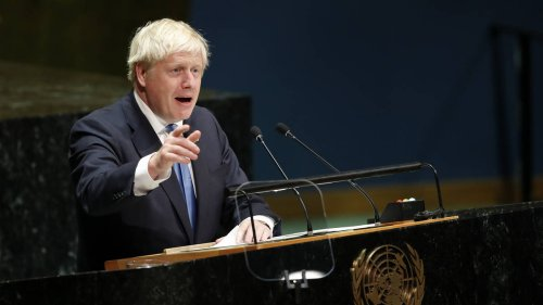 Climate change 'threat to global peace and security', warns Boris Johnson