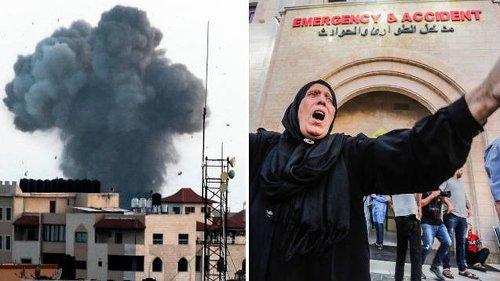 Israel launches air strikes on Gaza targets following rocket attacks