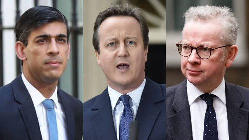 Greensill: David Cameron's lobbying texts to Sunak and Gove released